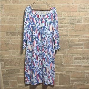 Lilly Pulitzer Marlowe Red Right Return X-Large